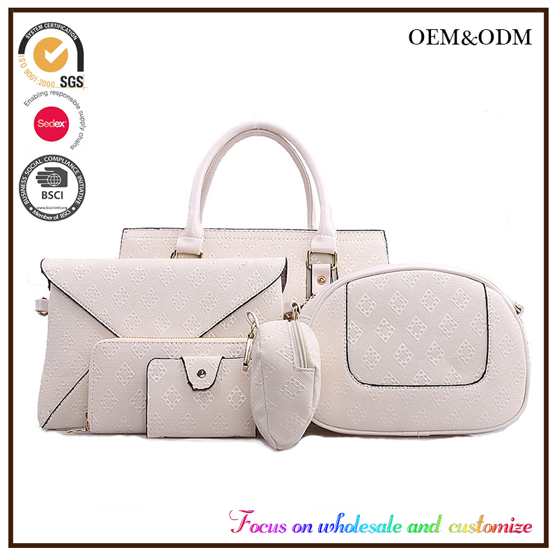 The new six in one package set bags shoulder handbag ms ling case grain bags wholesale tao bao made in China