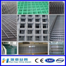 Best quality cheap price 1x1 pvc coated welded wire mesh green welded mesh panels