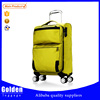 baigou women bags yellow luggage China overstock eco friendly suitcase