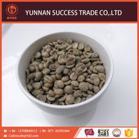 China factory price hot selling export washed arabica green coffee beans
