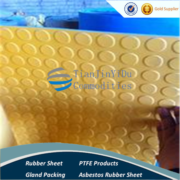 High strength Rubber Coin Stud Round Button Rubber Sheet