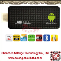 Mini PC Mk809III Quad Core RK3188 android 4.2.2 TV box stick 2GB RAM 8GB ROM 1.5Ghz Max bluetooth wifi