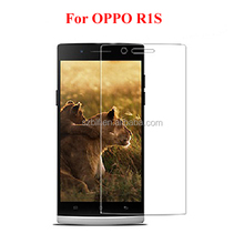 Best selling lcd screen guard factory price ultra clear mobile phone screen protector with design for oppo r1s screen protector