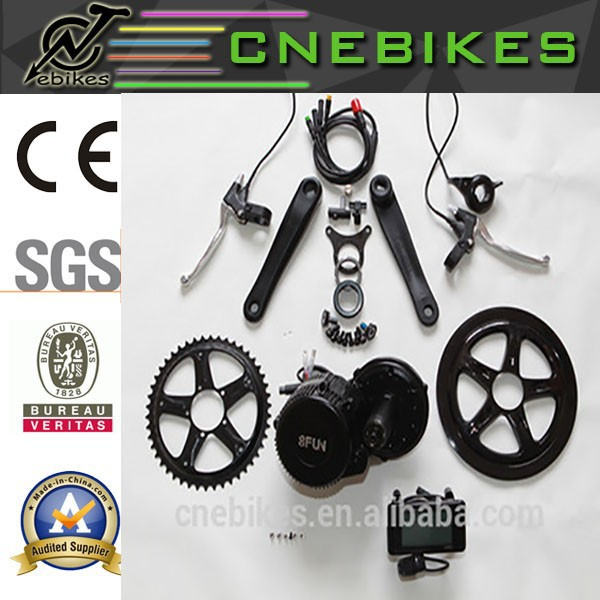 ebike 8fun BBS01 bicycle engine kit with crank drives motor all waterproof