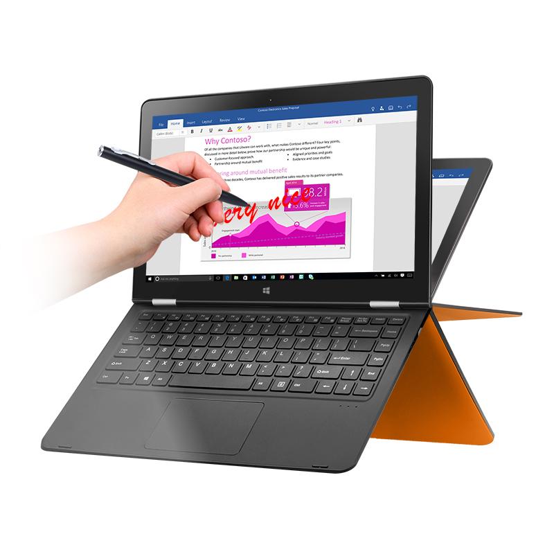 Voyo Vbook V3 tablet <strong>laptop</strong> with Intel Apollo 13.3inch Quad core 4GB 128GB/256GB