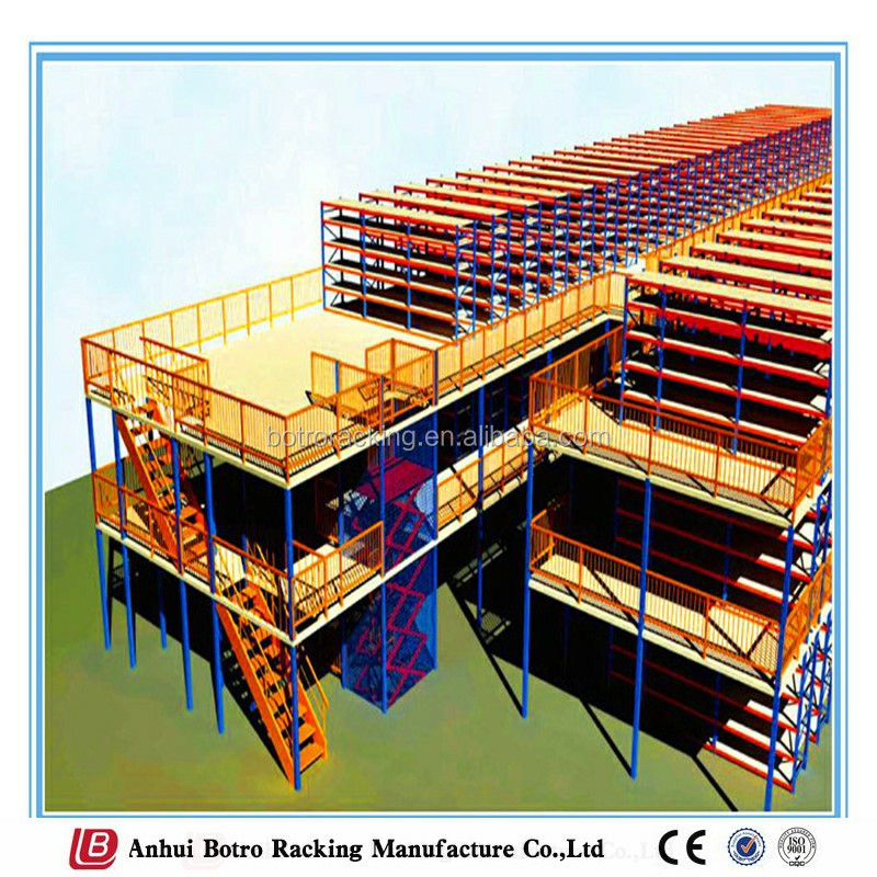 China high quality rack mezzanine platform, mezzanine floor, brazil store for warehouse storage