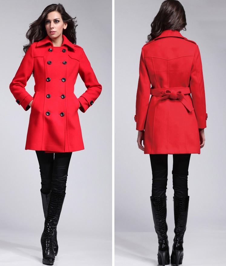 Women Winter Red Coats Long - Buy Women Winter Coats,Red Coats ...