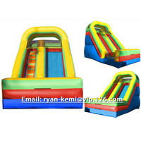 7mLx3.8mWx5.5mH commercial inflatable slide for kids adults colorful inflatable toys from China inflatable factory