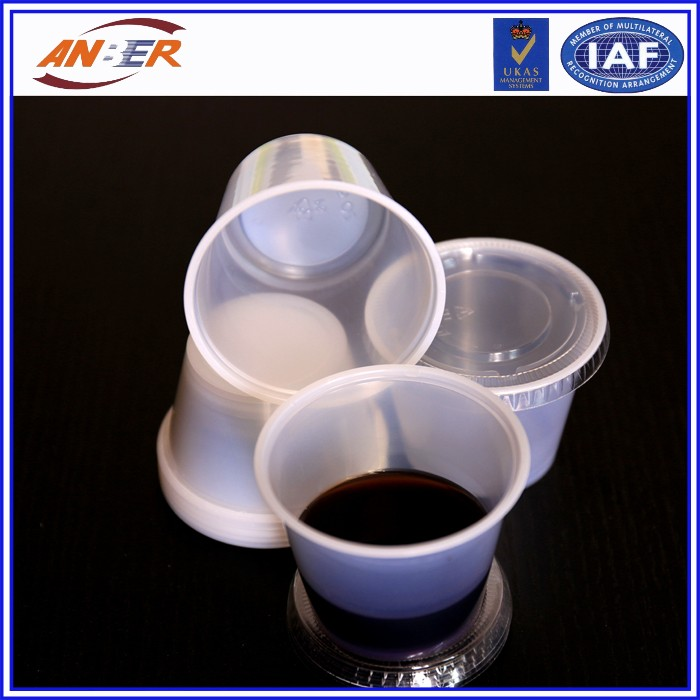 Professional Cup Printed Plastic For Sundae Salad