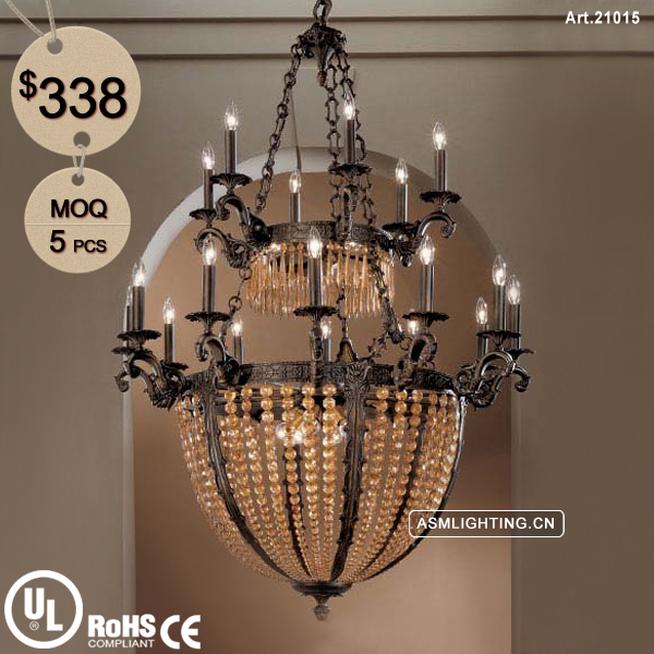 Traditional Style Empire Crystal Chandelier for Home Decoration