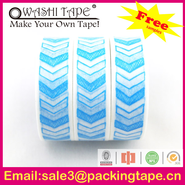 2014 hot sale plastic cat keychain with washi tape made in China SGS