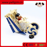 high quality wooden flying toy airplanes