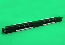 A01 16 port 1U unshield CAT6 krone patch panel