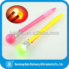 2014 Led light flashing bulb pen light bulb