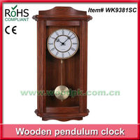 Seiko quartz wooden pendulum wall clocks