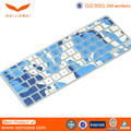 Fashion Colored laptop keyboard skin, for macbook keyboard protector, silicone keyboard protective cover for sale