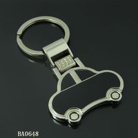 Keychain car shaped with personalized logo made by China manufacturer