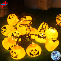 Factory directly sale special Halloween pumkin decoration led string light