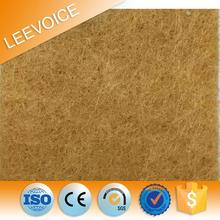 mdf sound absorption wall panel board fiberglass polyester fiber acoustic board