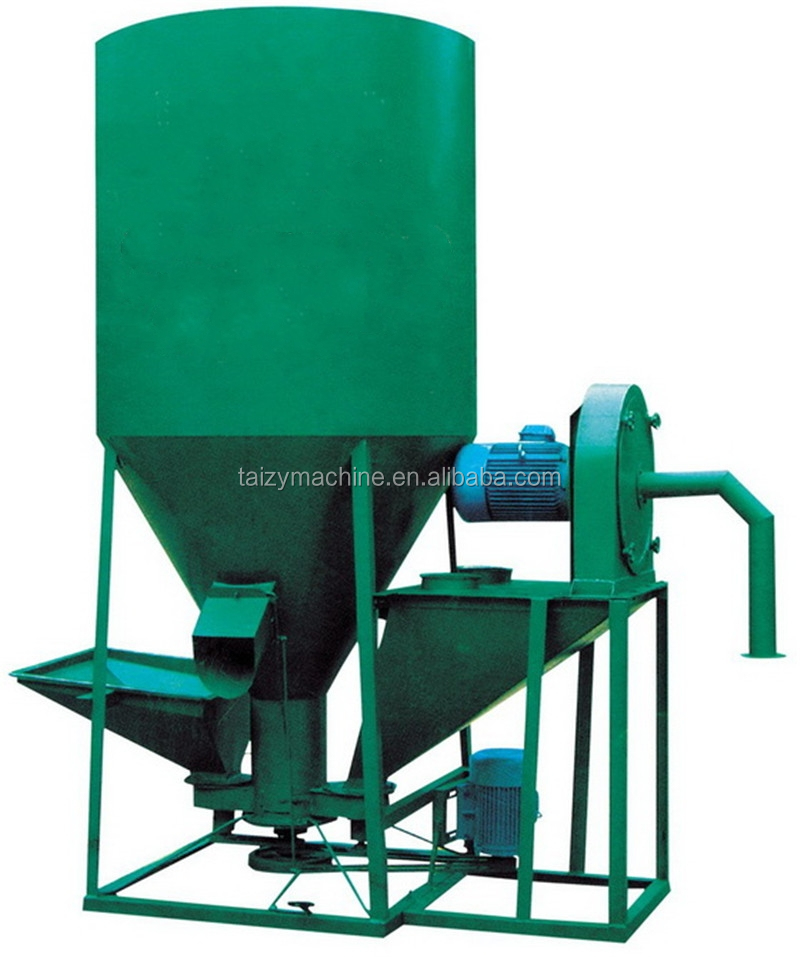 Hot selling animal feedstuff grinding and mixing machine/animal feed mixing machine