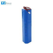 rechargeable lithium-ion battery 7.4v 18650 2s2p 6000mah for solar storage tactical flashlight