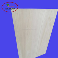 Beauty wood board of paulownia for guitar body