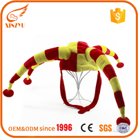 Hot sell fancy crazy party hats Halloween decoration snake party hat for kids