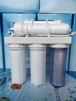 Made in Guangzhou China Domestic ro water treatment system(50GPD)