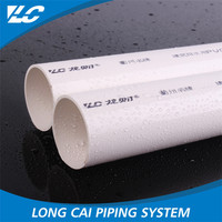 No Recycle Material Recyclable Smoothly tube pvc