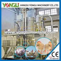 YONGLI BRAND animal feed production line for sale/feed pellet line