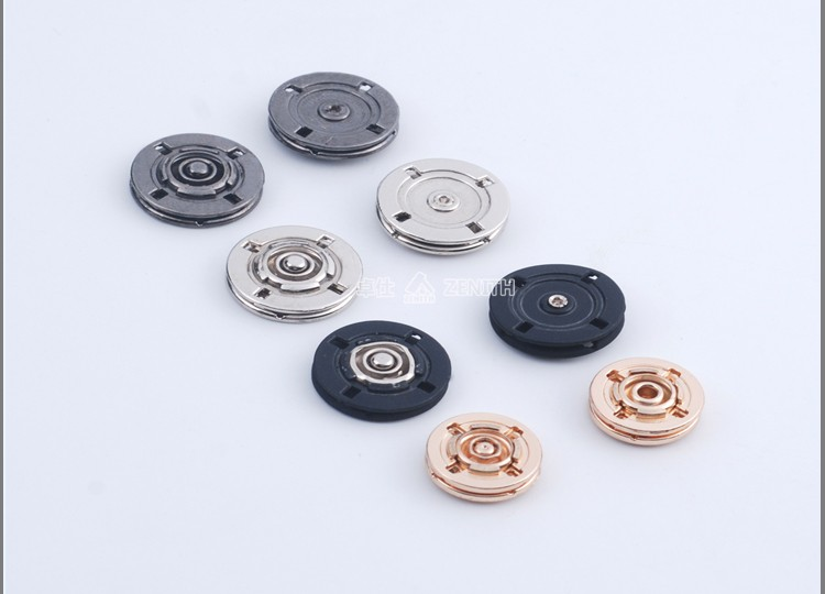 Round Shape Custom Metal Sewing Snap Buttons for Coat BM10815