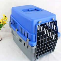Manufacturers supply high quality pet air box cages portable pet dog aircraft checked box