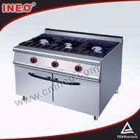 Stainless Steel 304 Commercial 30 gas range/gas fire stoves