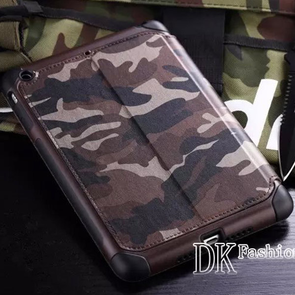 Shockproof Armor Camouflage Style Rubber Case Cover For Apple iPad Mini 1/2/3