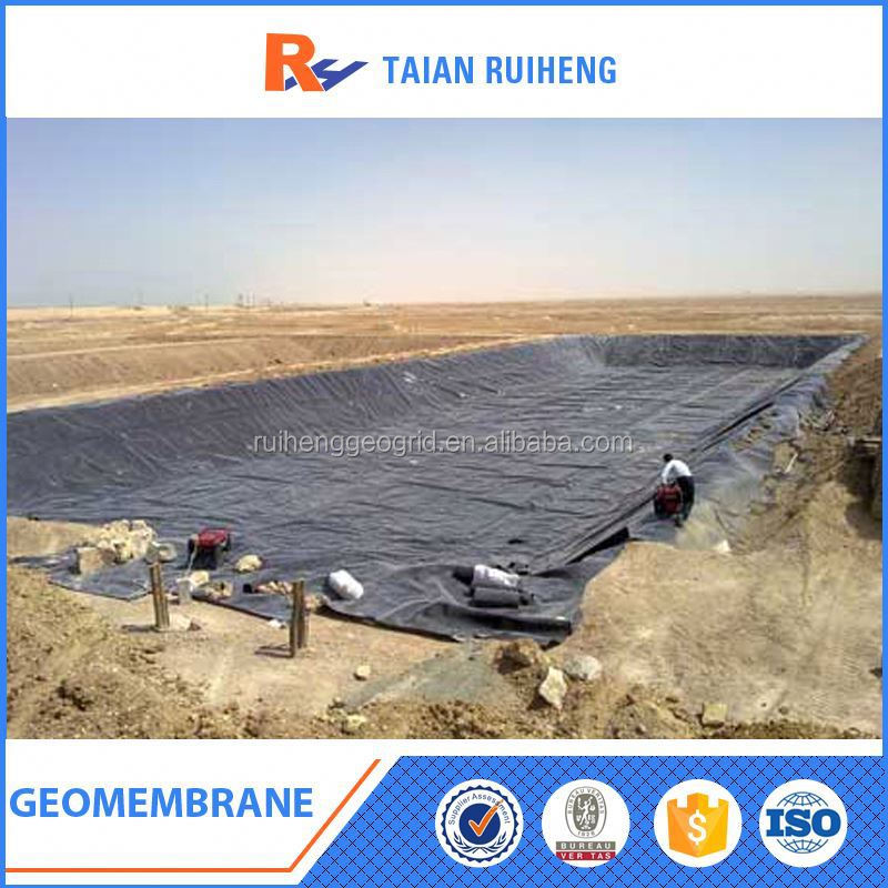 Black Plastic Sheet HDPE Geomembrane In China