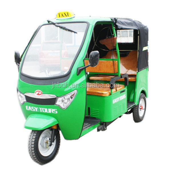 three wheeler motor/tuk tuk in tricycle with canvas