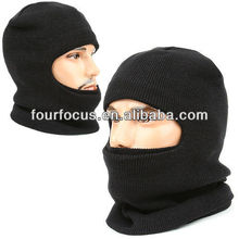 Face warmer black mask balaclava neckwarmer hood ski bike cap hat