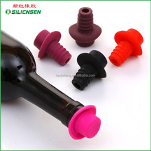 2016 New products , Wine Glass Bottle Plug , Silicone Wine Bottle Cork