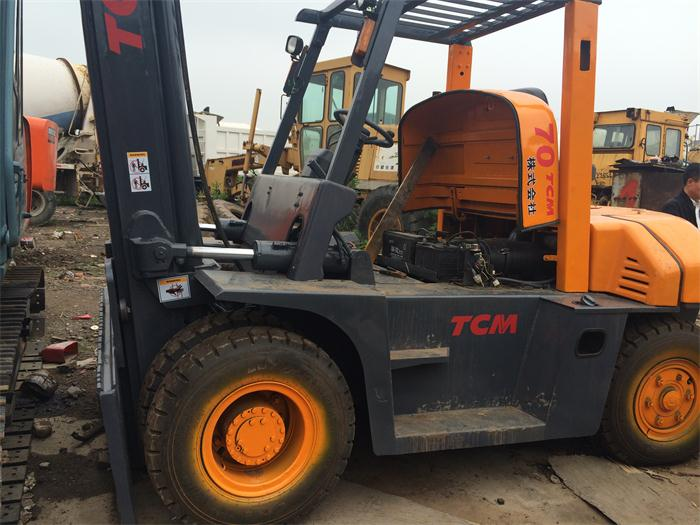 Cheap Second hand 7 Ton 10 Ton TCM Forklift