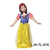 wholesale winter fashion cotton baby snow white tutu dress