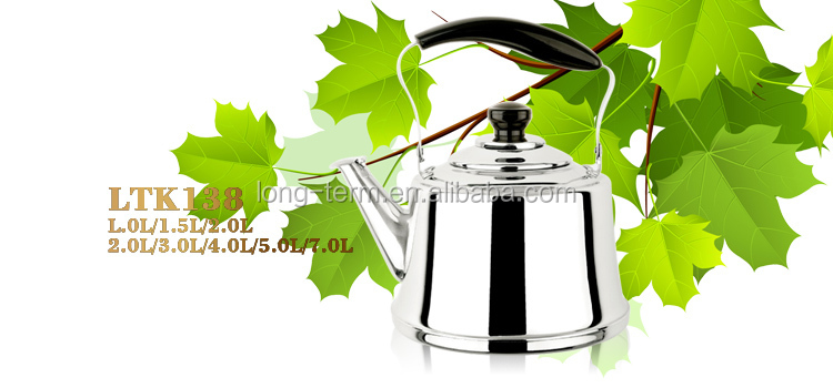 LTK138 Home Appliance Stainless Steel Teapot