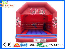 2016 High quality sale!!!Super hot spidrman cartoon bounce house for sale