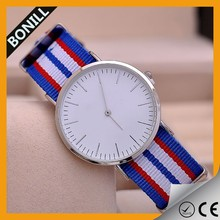 Novelty Design Stainless Steel Material Sapphire Crystal Super Thin Wrist Watch
