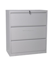 metal file 3 drawer steel storage lateral filing cabinet