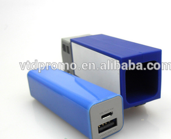 Pvc truck shape power bank, cube power bank, portable powebankl