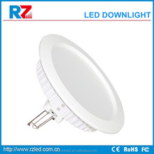 high quality 3 years warranty CE, RoHS, FCC approved led downlight with 250mm cut o...