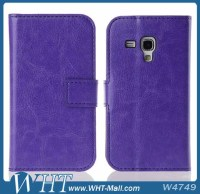 Flip Cover For Samsung Galaxy Trend Duos S7562 Case,WHTS007