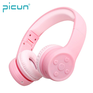 Picun E2 Anti-violent Head Beam Smart Volume Control 85dB Hearing Protect Kid Microphone Wireless Children Headphone