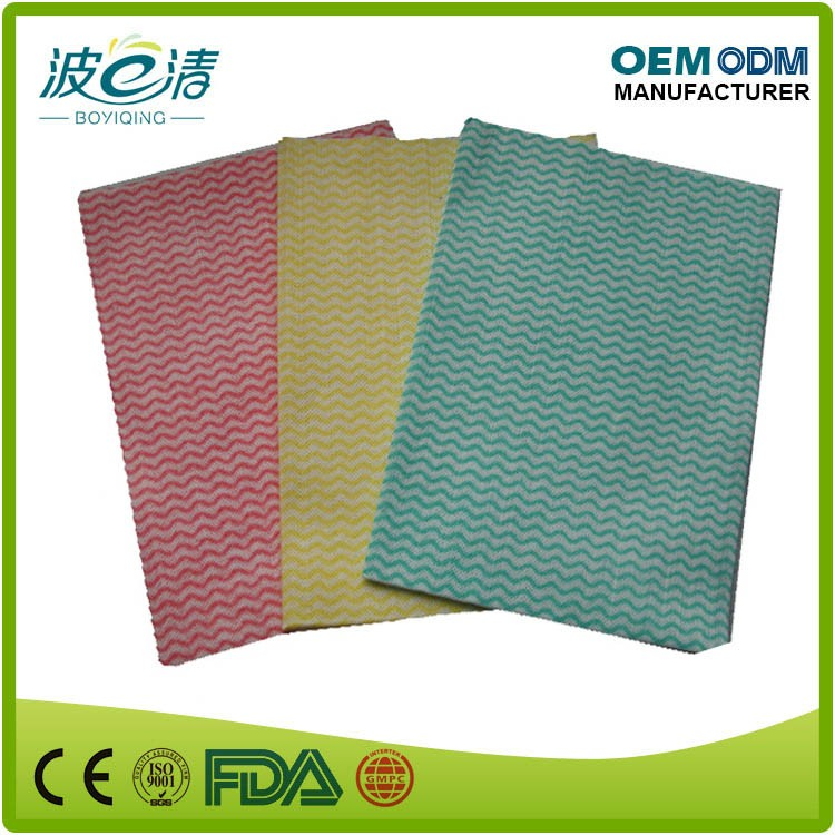 Disposable Nowoven Green Clean wipe,High Quality And Tope Sales Cleaning Wipe,Heavy Duty strength and Re-Useable Wipe Cloth
