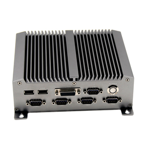 Fanless MINI PC,i7 Embedded Industrial Computer with onboard 4GB